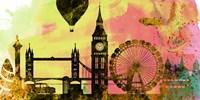 London City Skyline Fine Art Print