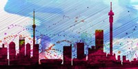 Johannesburg City Skyline Fine Art Print