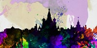 Moscow City Skyline Fine Art Print