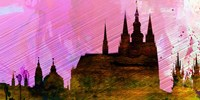 Prague City Skyline Fine Art Print