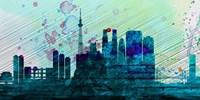 Tokyo City Skyline Fine Art Print