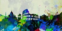 Rome City Skyline Fine Art Print