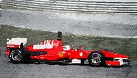 Ferrari F1 Racing Fine Art Print