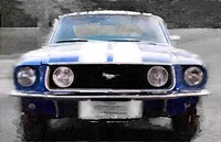1968 Ford mustang Front End Framed Print