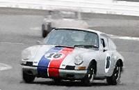 Porsche 911 Race in Monterey Fine Art Print