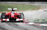 Ferrari F1 on Track Fine Art Print