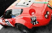 Ferrari Reear Detail Fine Art Print