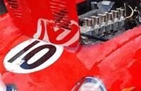 1962 Ferrari 250 GTO Engine Fine Art Print