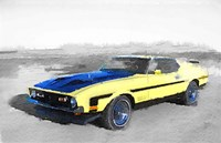 1971 Ford Mustang Boss Fine Art Print