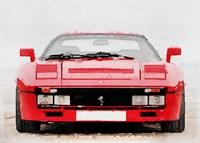 1980 Ferrari 288 GTO Front Fine Art Print