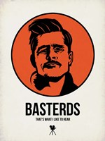 Basterds 1 Framed Print