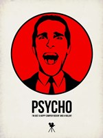 Psycho 2 Framed Print