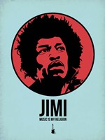 Jimi 2 Fine Art Print