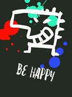 Be Happy 2 Fine Art Print