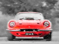 Ferrari Dino 246 GT Front Fine Art Print