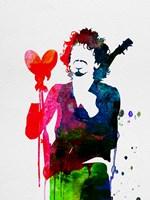 Santana Watercolor Fine Art Print