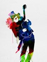 Slash Watercolor Fine Art Print
