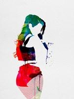 Iggy Watercolor Fine Art Print