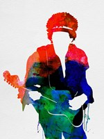 Jimi Watercolor Fine Art Print