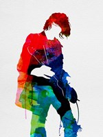 Kurt Watercolor Fine Art Print