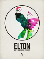 Elton Watercolor Fine Art Print
