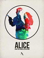Alice Watercolor Fine Art Print