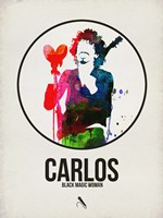 Carlos Watercolor Fine Art Print