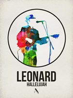 Leonard Watercolor Fine Art Print
