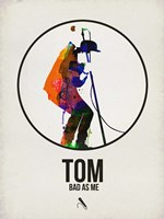 Tom Watercolor Fine Art Print