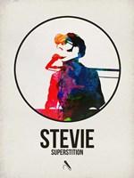Stevie Watercolor Fine Art Print