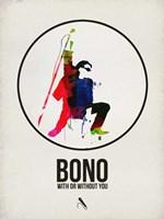 Bono Watercolor Fine Art Print