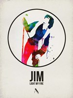 Jim Watercolor Fine Art Print