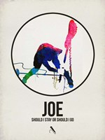 Joe Watercolor Fine Art Print