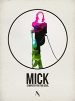 Mick Watercolor Fine Art Print