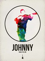 Johnny Watercolor Fine Art Print