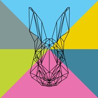 Party Rabbit Fine Art Print