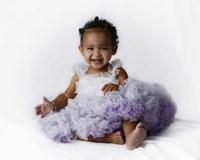 Sassie Baby Purple Fine Art Print
