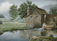 Country Mill Fine Art Print