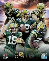 Green Bay Packers 2015 Team Composite Fine Art Print
