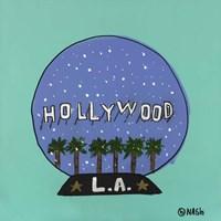 L.A. Snow Globe Fine Art Print