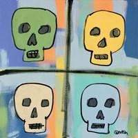 Four Skulls Fine Art Print