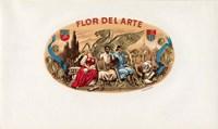 Flor Del Arte Fine Art Print