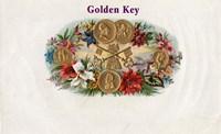 Golden Key Fine Art Print