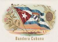 Bandera Cubana Fine Art Print