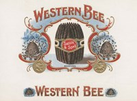 Western Bee Fine Art Print