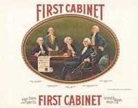First Cabinet Fine Art Print