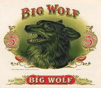 Big Wolf Fine Art Print