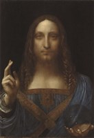 Salvator Mundi Fine Art Print