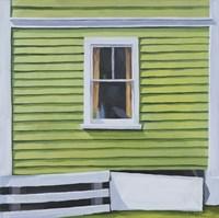 Green Window Fine Art Print