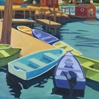 Boats Vinal Haven Fine Art Print